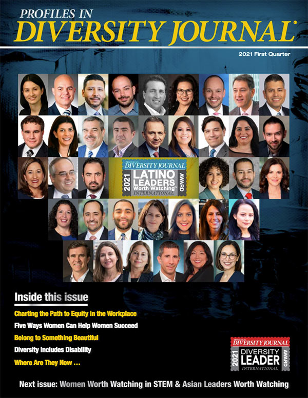 Profiles in Diversity Journal First Quarter 2021 Issue