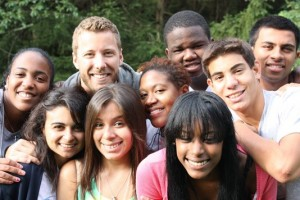 Students during Lead for Diversity, Summer 2013