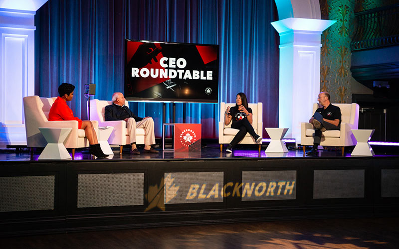 The BlackNorth virtual summit launch event, CEO Roundtable