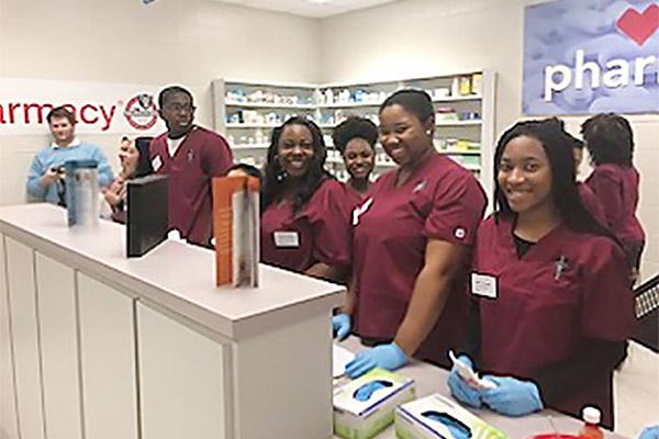 CVS Health Mock Pharmacy