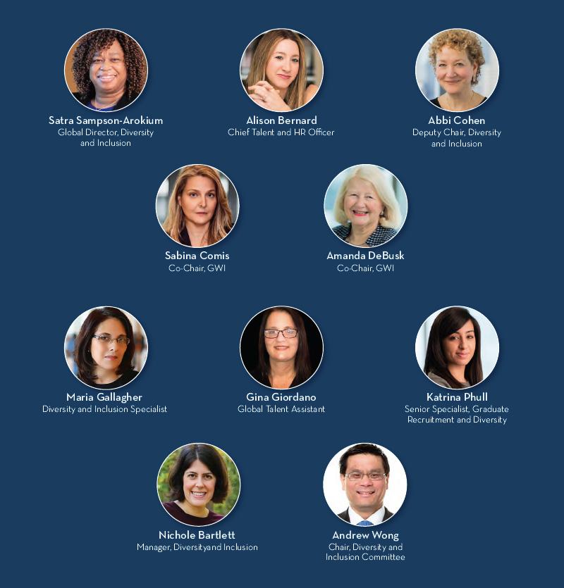 Dechert LLP Diversity & Inclusion Team members