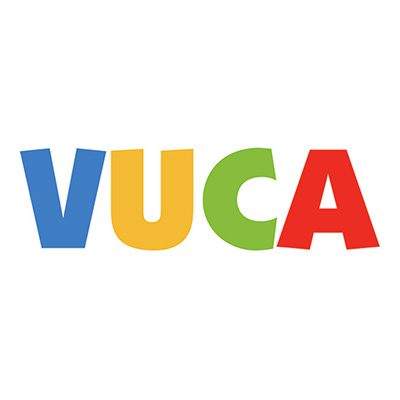 VUCA, Volatility, Uncertainty, Complexity and Ambiguity.