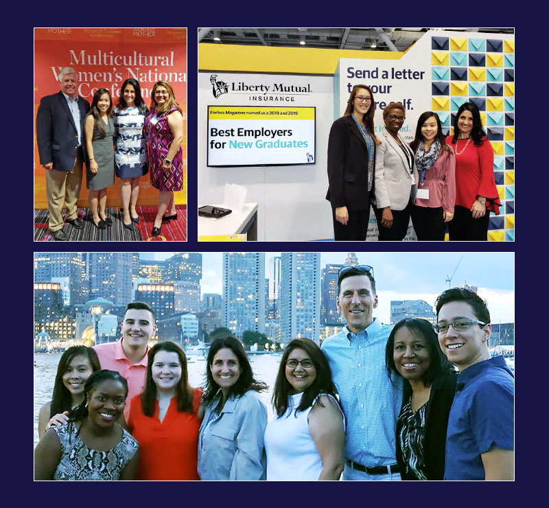 Liberty Mutual Insurance Office of Diversity & Inclusion teams