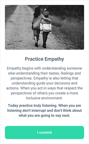 MicroAction - Enhance Empathy