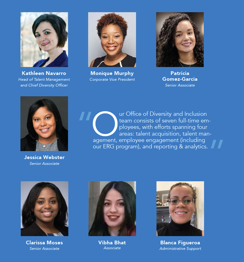 New York Life Office of Diversity & Inclusion team