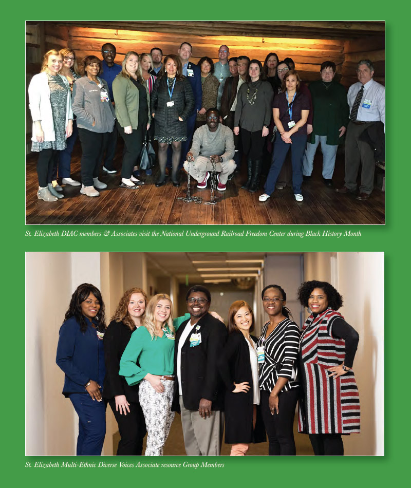 St. Elizabeth Healthcare Diversity and Inclusion Advisory Council team members