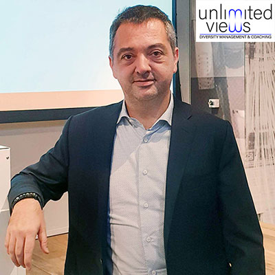 Claudio Guffanti, Founder of Unlimited Views