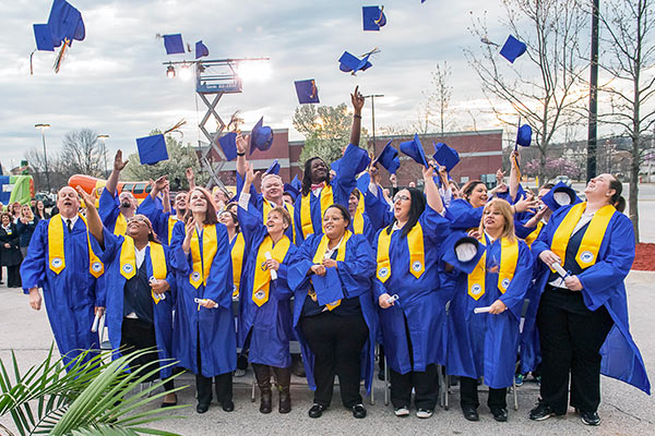 Walmart Academies Training graduation group